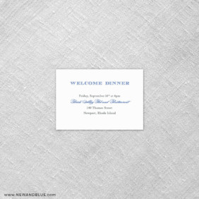 Marthas Vineyard 7 Reception Card