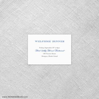 Marthas Vineyard 7 Reception Card