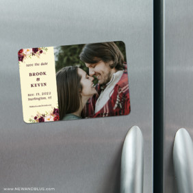 Meant To Be 4 Refrigerator Save The Date Magnets