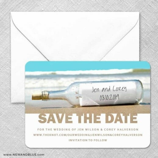 Message In A Bottle Classic Size