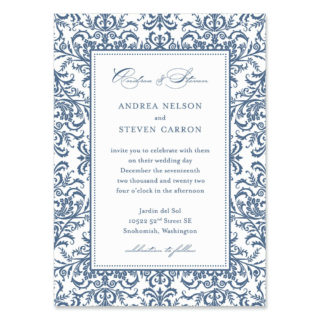 Milan Wedding Invitation