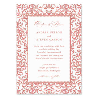 Milan Wedding Invitation