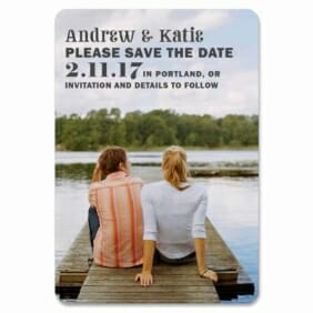 Mirror Lake 1 Save The Date Magnets