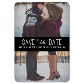 Montauk 1 Save The Date Magnets