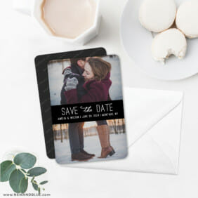 Montauk 6 Wedding Save The Date Magnets With Envelope