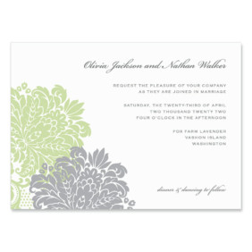 Moon River Wedding Invitation