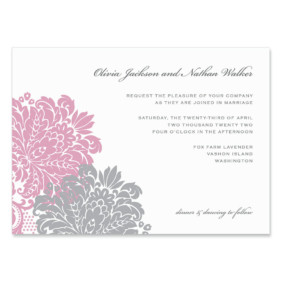 Moon River Wedding Invitation