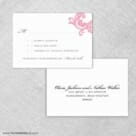 Moon River Rsvp Card And Envelope