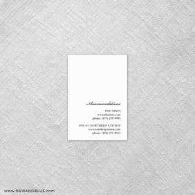 Moonlight Sonata 7 Reception Card