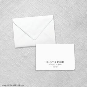 Moonlight Sonata 8 Thank You Card