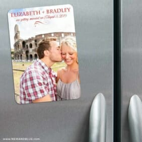My Crush 3 Refrigerator Save The Date Magnets