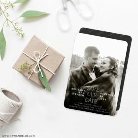 Nestled 4 Wedding Magnet