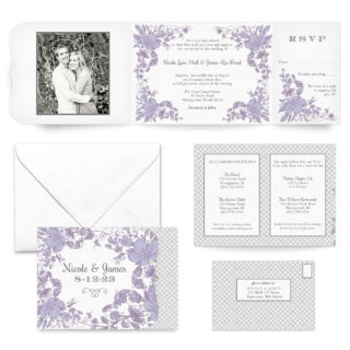 Newburyport All Inclusive Wedding Invitation
