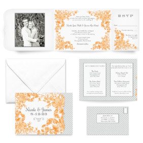 Newburyport All Inclusive Wedding Invitation