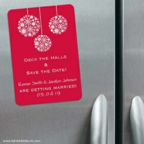 Noel 3 Refrigerator Save The Date Magnets