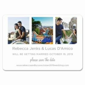On This Day 1 Save The Date Magnets