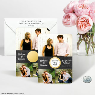 Our Special Spot 7 Scratch Off Wedding Save The Date Magnet