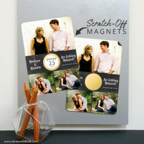 Our Special Spot 8 Scratch Off Magnetic Save The Date