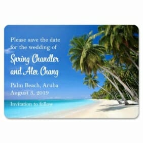 Palm Beach 1 Save The Date Magnets