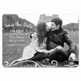 Paris 1 Save The Date Magnets