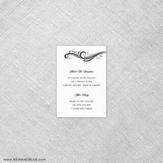 Paris 7 Reception Card