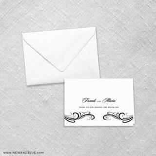 Paris 8 Thank You Card