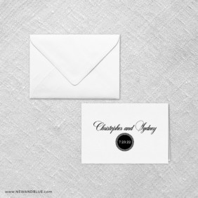 Park Avenue Thank You Card And Envelope