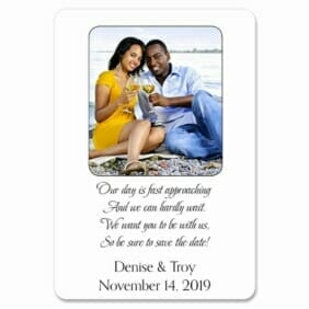 Poem 1 Save The Date Magnets
