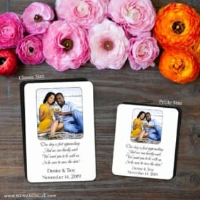 Poem 2 Save The Date Magnet Classic And Petite Size