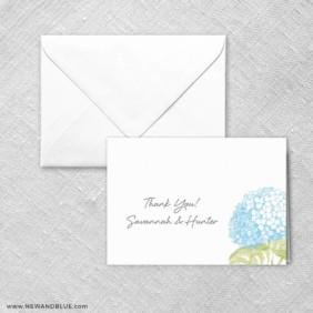 Portofino Thank You Card And Envelope