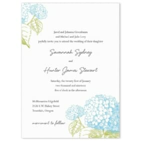 Portofino Wedding Invitation