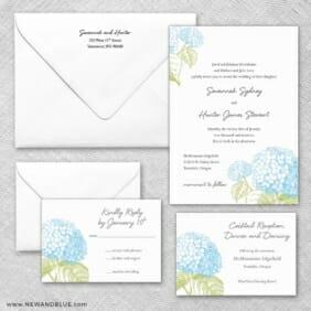 Portofino Wedding Invitation And Rsvp