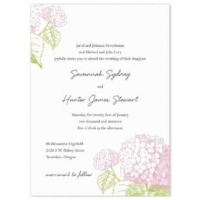 Portofino Wedding Invitation