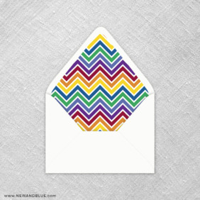 Rainbow Love 9 Envelope Liner