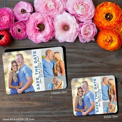 Relish The Moment 2 Save The Date Magnet Classic And Petite Size
