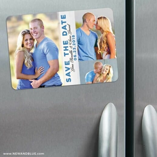 Relish The Moment 3 Refrigerator Save The Date Magnets