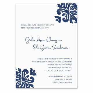 Rio De Janeiro Wedding Invitation