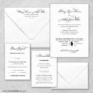 Rivershore Wedding Invitation And Rsvp