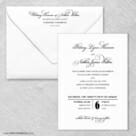 Rivershore Wedding Invitation With Envelope