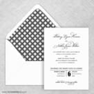 Rivershore Wedding Invitation With Envelope Liner