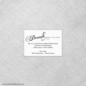 Romance 7 Reception Card