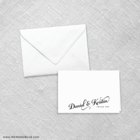 Romance 8 Thank You Card