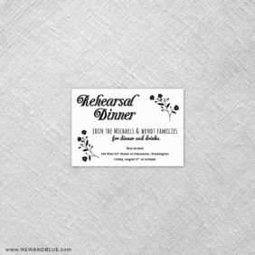 Saint Helens 7 Reception Card