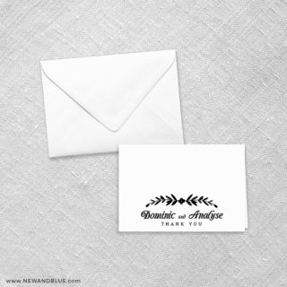 Saint Helens 8 Thank You Card