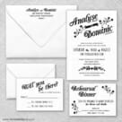 Saint Helens Wedding Invitation And Rsvp