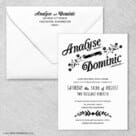 Saint Helens Wedding Invitation With Envelope