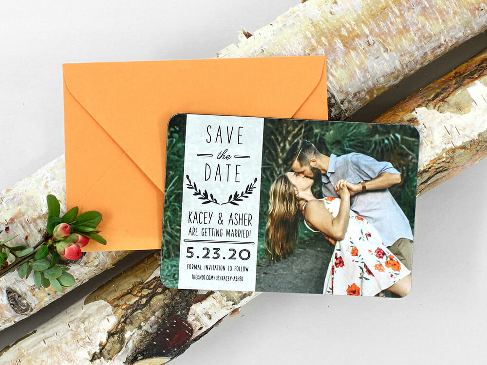 Save the Date Magnets Information to Exclude