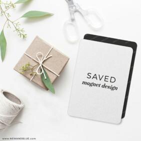 Saved Magnet Design 4 Wedding Magnet
