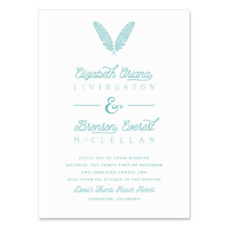 Scout Wedding Invitation