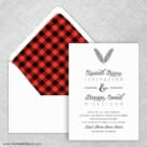 Scout Wedding Invitation With Envelope Liner